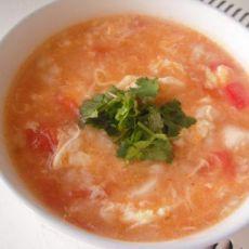海鲜番茄疙瘩汤