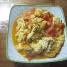 蒜香西红柿炒蛋的做法