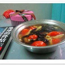 笋干番茄汤的做法