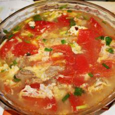排骨番茄蛋花汤(原创首发)