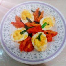 番茄炒蛋(煮蛋)