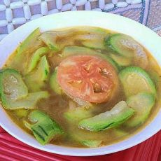 丝瓜番茄猪骨汤的做法
