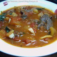 罗勒番茄牛肉拌饭的做法