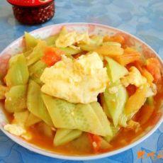 黄瓜番茄炒鸡蛋的做法