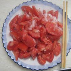 女士最爱之糖拌西红柿