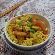 鸭蛋炒西红柿的做法