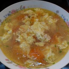 番茄肉糜蛋汤的做法
