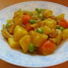 咖喱土豆鸡腿肉
