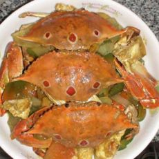 咖喱炒螃蟹