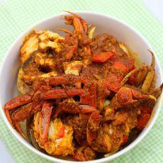 椰汁咖喱蟹