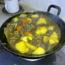 咖喱牛腩的做法的做法