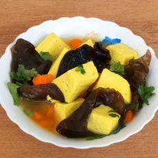 咖喱豆腐汤的做法