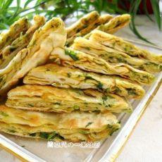 咖喱芹菜鸡蛋饼