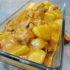 咖喱薯仔排骨的做法
