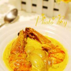 娘惹咖喱虾