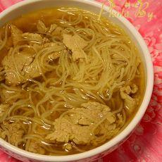 肉片米粉咖喱汤