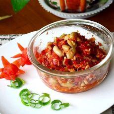 花生剁辣椒的做法