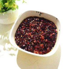 黑芝麻辣椒油的做法