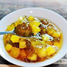 菠萝香瓜果酱的做法