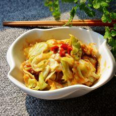 鱼香包菜的做法