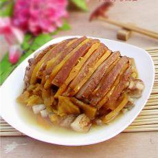 红薯扣肉的做法