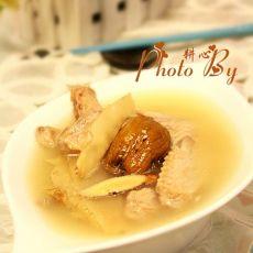 玉竹鸭翅汤的做法