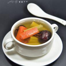 马蹄胡萝卜甘蔗水