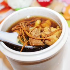虫草花瘦肉汤的做法