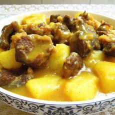 咖喱土豆牛腱