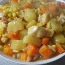 土豆鸡肉咖喱