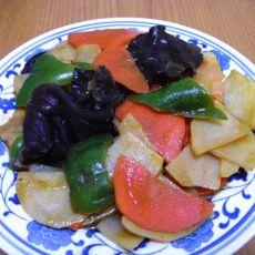 咖喱炒时蔬的做法
