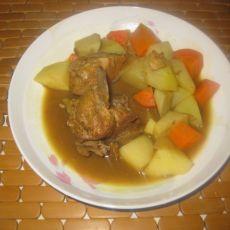 咖喱排骨土豆