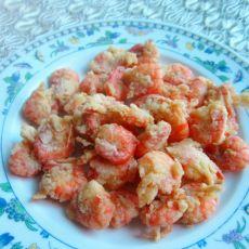 挂糊咖喱虾