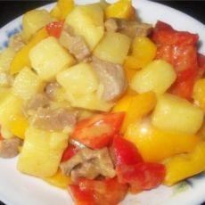 咖喱椰汁土豆的做法