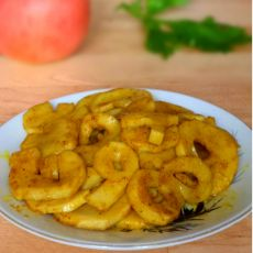 咖喱杏鲍菇