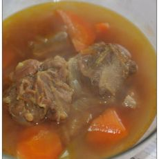 咖喱牛尾汤的做法