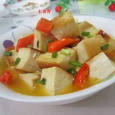 咖喱豆腐丁的做法