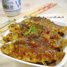 香辣咖喱野鲫鱼的做法