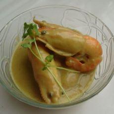 鲜美咖喱大虾