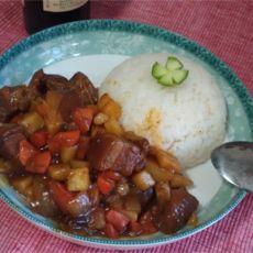 咖喱猪肉饭