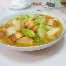 香干咖喱白菜