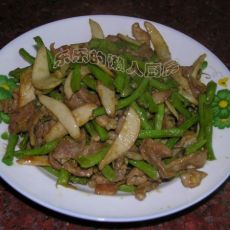 咖喱豇豆的做法