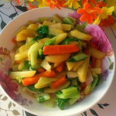 咖喱焖土豆条