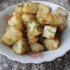 香辣孜然土豆的做法