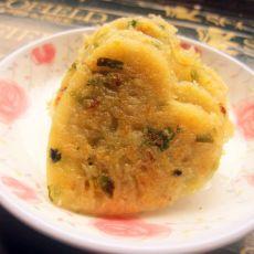 孜然香菜叶土豆饼的做法