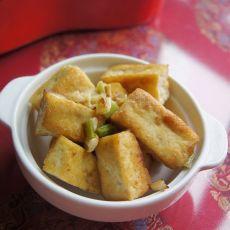 孜然煎豆腐的做法