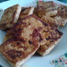 电饼铛煎孜然豆腐的做法