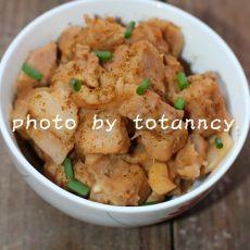 孜然香芋焖猪肉