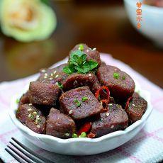香煎紫土豆