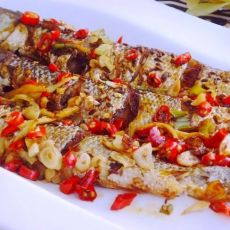 辣烤梭鱼的做法